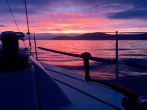 Sailing over from Carrickfergus up to Oban on Wed_Thurs