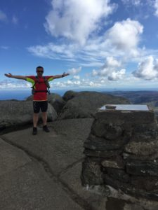 Top of Goatfell on Arran